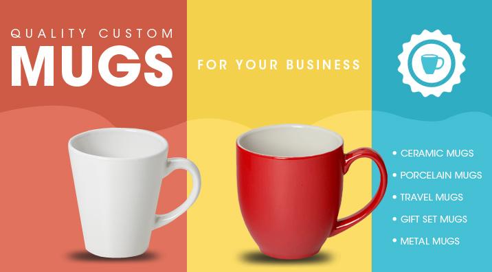 Custom mug banner
