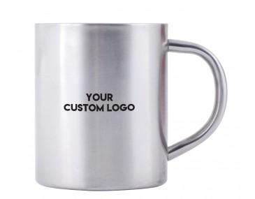 300ml Stainless Steel Mugs Personalised