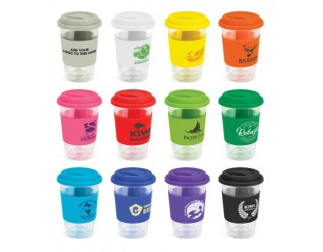 350ml Personalised Glass Coffee Cups