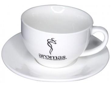 Cappuccino Mug with Saucer