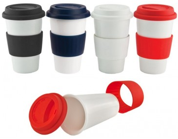 Branded Ceramic Travel Mugs