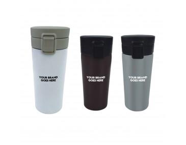 Flip Lid Travel Mugs
