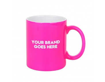 Fluro Coloured Mugs
