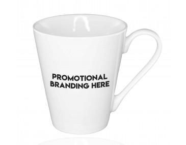 Logo Branded China Latte Mugs