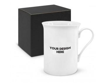 Luxe Fine Bone China Mugs Branded