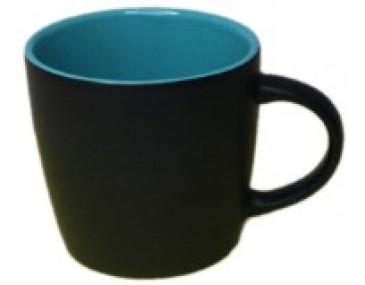 Matt Black Custom Branded Mugs