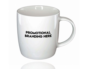 Promotional Barrel Bone China Mugs