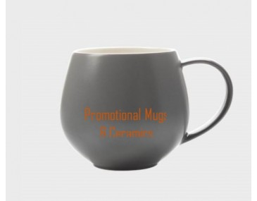 SNUG Tint Mug 450ml Charcoal