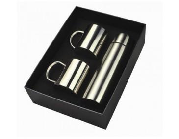 Stainless Steel Mugs Gift Set