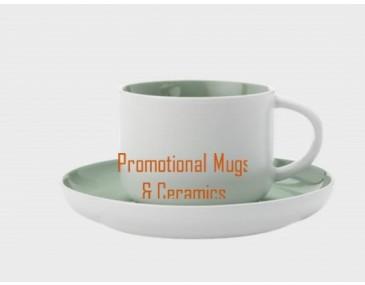 Tint Demi Cup & Saucers 100ml Mint