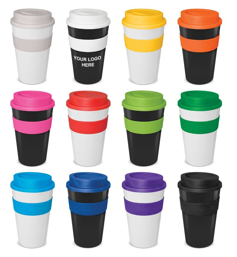 480ml logo branded reusable cups Reusable Coffee Cup Reusable Ml Express Cup Branded Promotional Reusable Coffee Cups