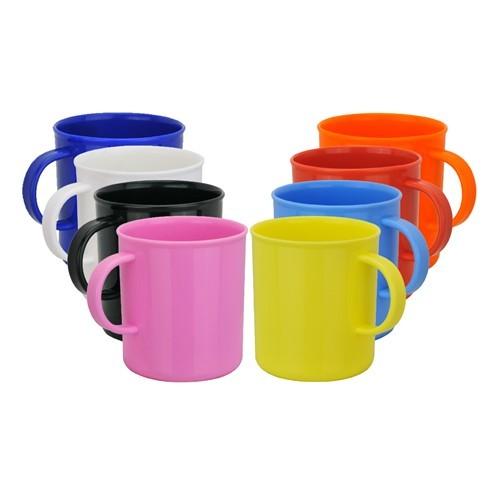 Promotional Colourful Plastic Mugs Planet Mugs In Bulk