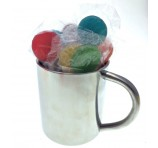 Various Colour Lollipop Stainless Steel Mugs