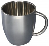 Custom Curved Stainless Steel Mug