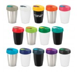 Designer Metal Travel Cups