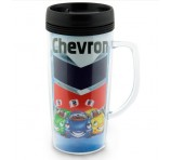 Digital Screw Top Coffee Mug