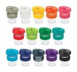 Flipper Lid Clear Plastic Mugs