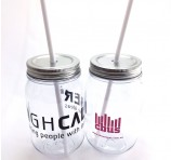 Personalised Mason Jar Tumbler