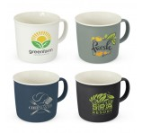 Porcelain Contrast Mugs 330ml Branded