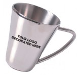 The Falco Stainless Steel Logo Mug