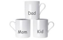 Perosnalised White Mugs