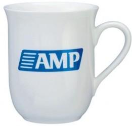 front page porcelain mug
