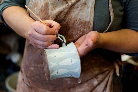 Customising a Ceramic Mug