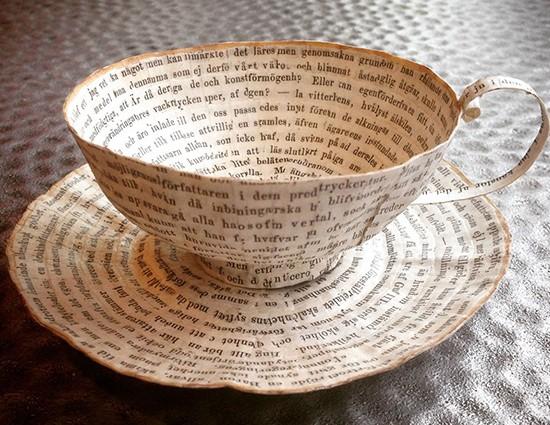 paper mug art
