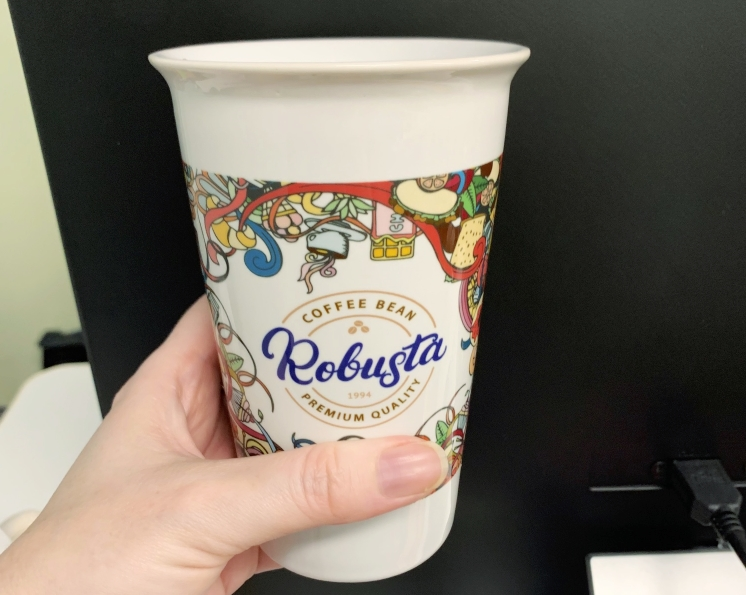 Large Coffee Cup With Custom Branding
